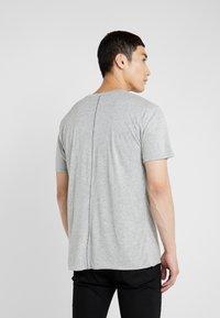 rag & bone - TEE - T-shirt basic - heather charcoal - 2