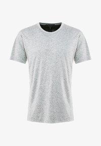 rag & bone - TEE - T-shirt basic - heather charcoal - 4