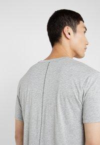 rag & bone - TEE - T-shirt basic - heather charcoal - 3