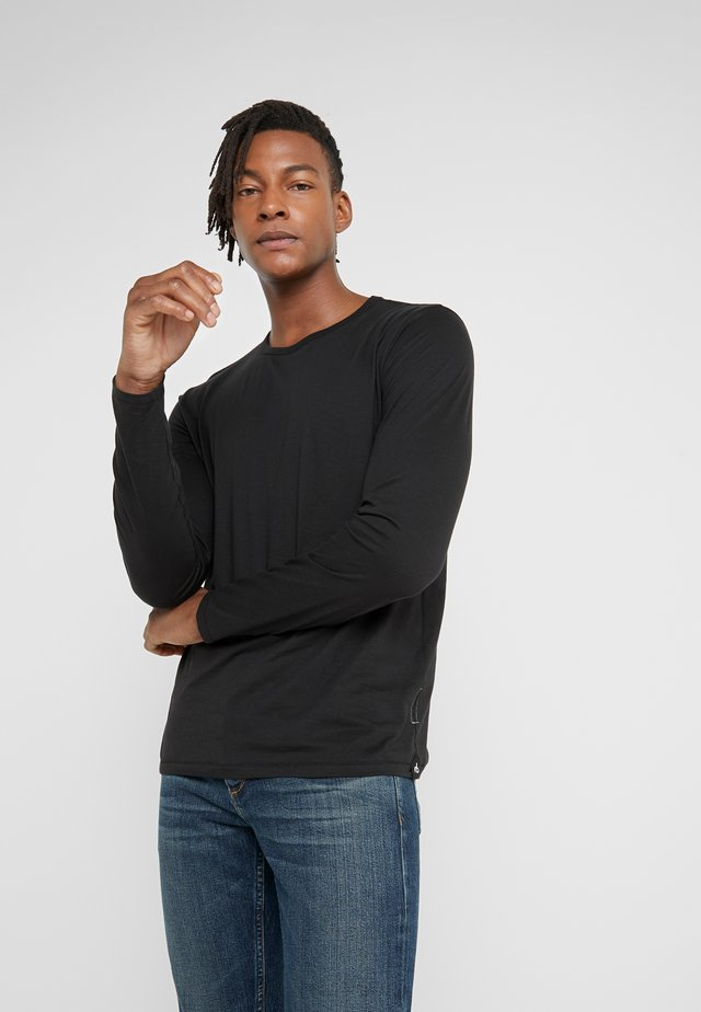 CLASSIC BASE TEE - Long sleeved top - black