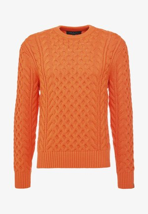 ARAN CREW - Sweter - orange