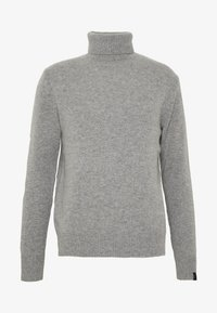 rag & bone - HALDON CASHMERE  TURTLENECK - Sweter - mottled grey - 4