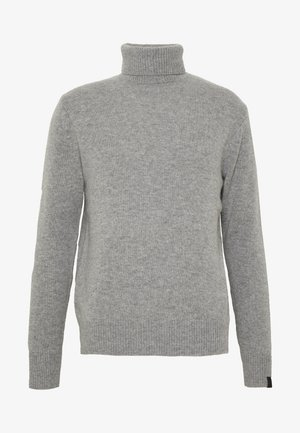 HALDON CASHMERE  TURTLENECK - Jumper - mottled grey