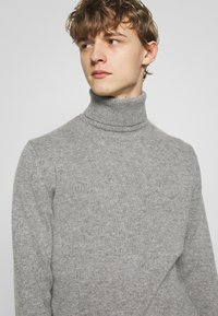 rag & bone - HALDON CASHMERE  TURTLENECK - Sweter - mottled grey - 3