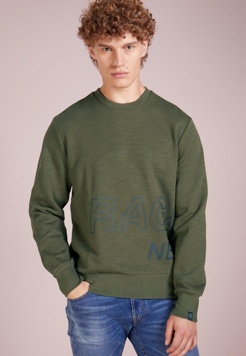 rag & bone - WRAP AROUND - Sweatshirt - army