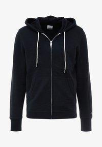 rag & bone - CLASSIC ZIP HOODIE - veste en sweat zippée - black - 3