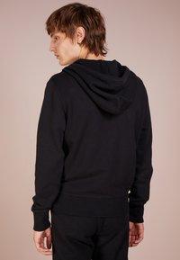 rag & bone - CLASSIC ZIP HOODIE - veste en sweat zippée - black - 2