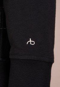 rag & bone - CLASSIC ZIP HOODIE - veste en sweat zippée - black - 4