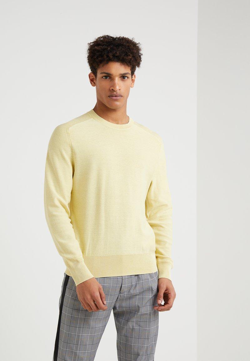 rag & bone - LANCE CREW - Stickad tröja - light yellow