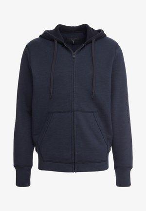 ANSON ZIP HOODIE - Bluza rozpinana - navy/black