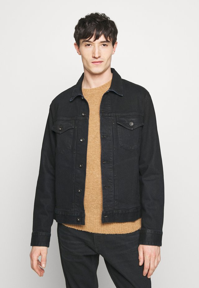 DEFINITIVE JACKET - Denim jacket - dark blue denim