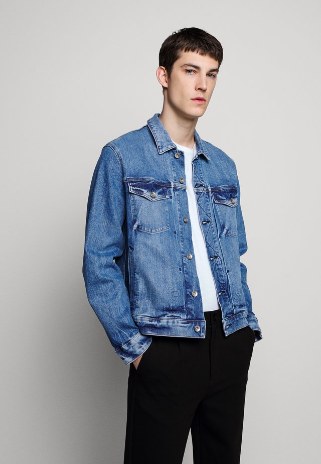 DEFINITIVE JACKET - Denim jacket - blue denim