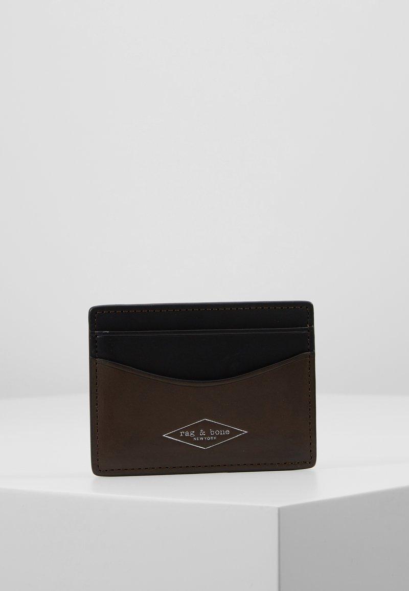 rag & bone - HAMPSHIRE CARD CASE - Kortholder - smog