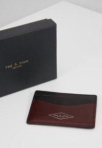 rag & bone - HAMPSHIRE CARD CASE - Etui na wizytówki - chanti - 2