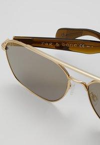 rag & bone - Sonnenbrille - gold brwn - 3