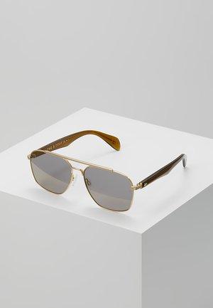 Okulary przeciwsłoneczne - gold brwn