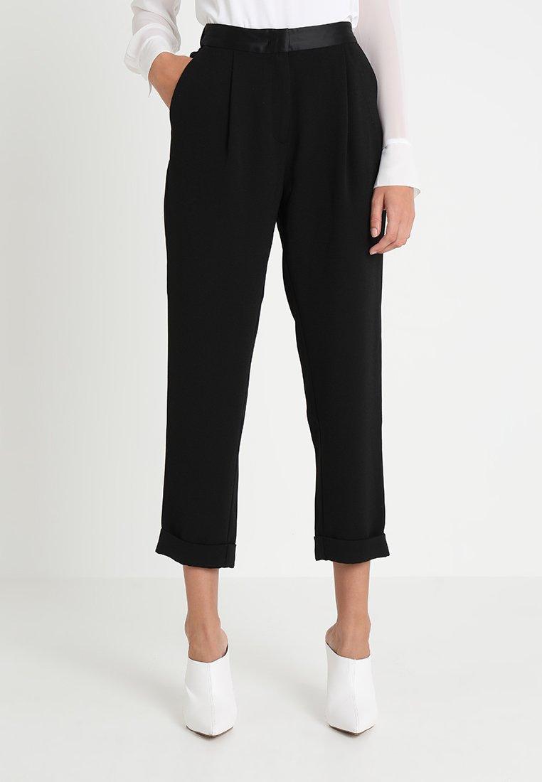 Rue de Femme - PARTY PANT - Trousers - black
