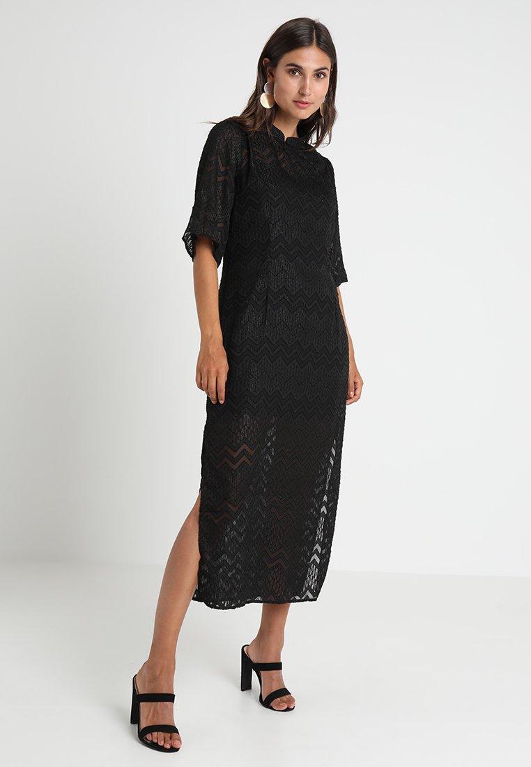 Rue de Femme - CHINA DRESS - Maxi dress - black