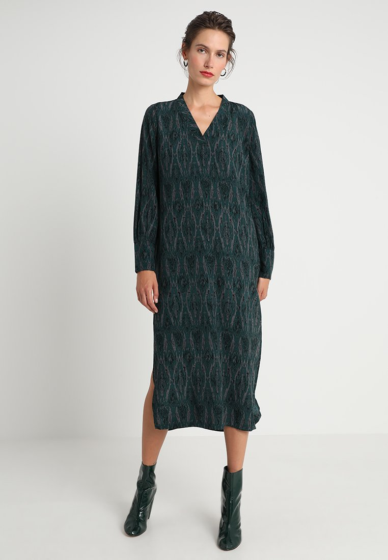 Rue de Femme - ELIKA DRESS - Maxi dress - forest