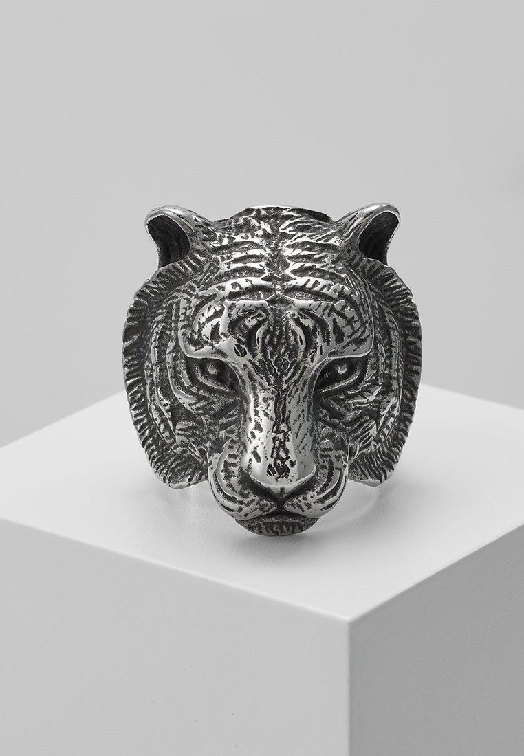 Royal - Ego - TIGER - Ring - silver-coloured