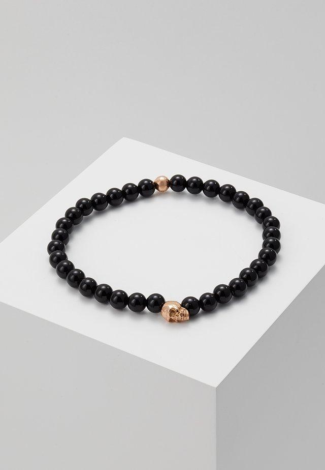 BRACELET - Bracelet - black/rosegold-coloured