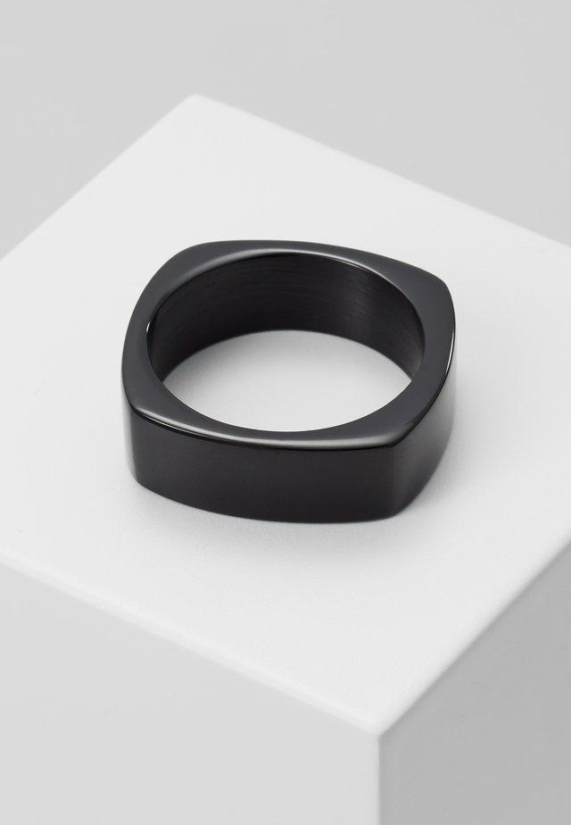 RING CLASSIC LINE - Ringe - black