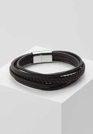 BRACELET - Armbånd - brown/silver-coloured