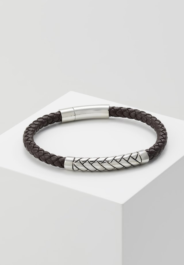 BRACELET - Bracelet - black/silver coloured