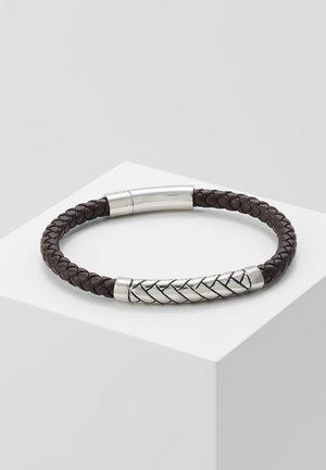 BRACELET - Náramek - black/silver coloured