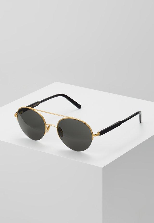 COOPER - Sunglasses - black/gold-coloured