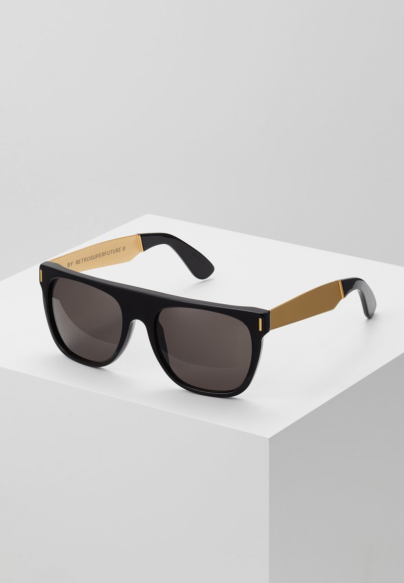 RETROSUPERFUTURE - FLAT TOP FRANCIS - Sunglasses - black/gold-coloured