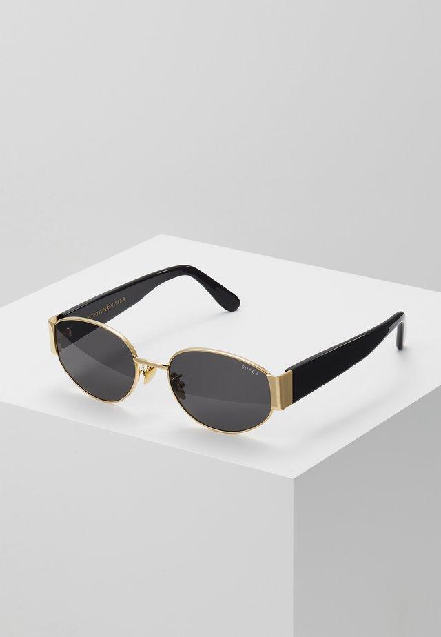 THE X - Okulary przeciwsłoneczne - black/gold-coloured