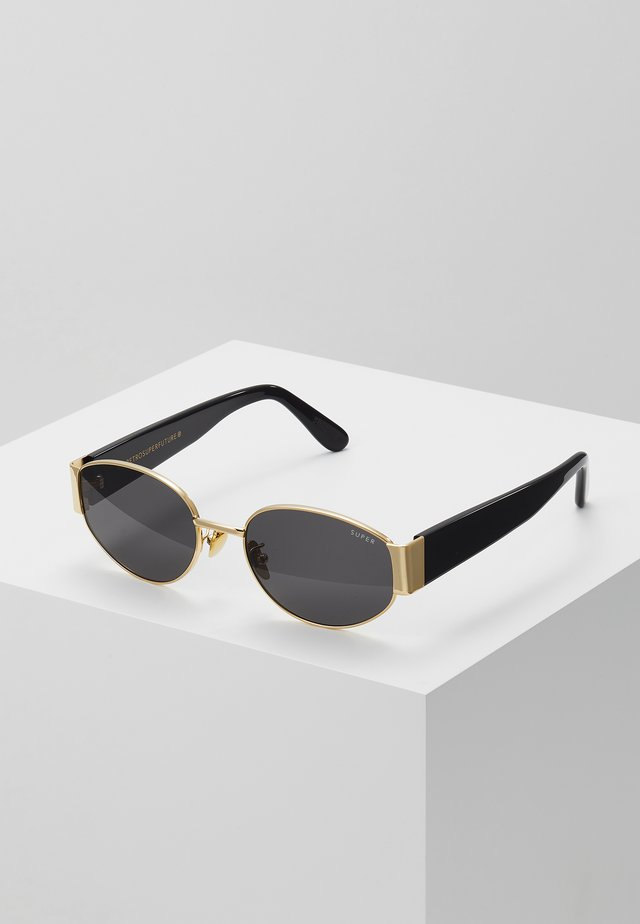 THE X - Sonnenbrille - black/gold-coloured