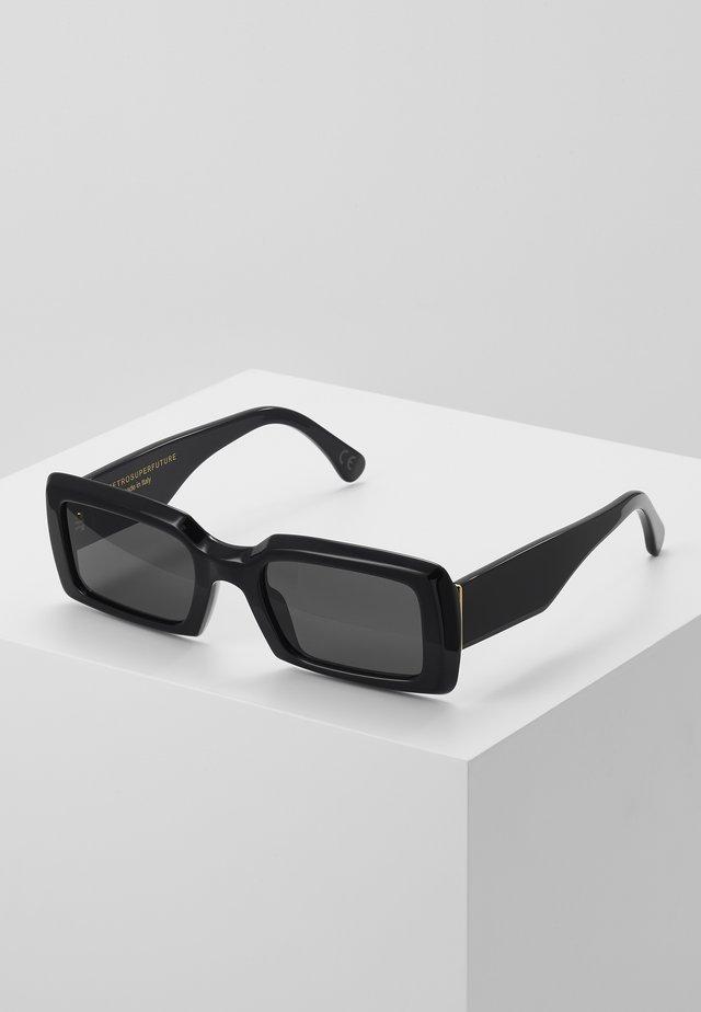 SACRO DARK HAVANA - Okulary przeciwsłoneczne - black