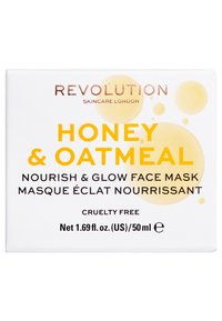 Revolution Skincare - HONEY & OATMEAL NOURISH & GLOW FACE MASK - Face mask - - - 2