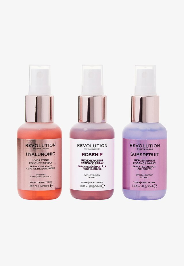 MINI ESSENCE SPRAY COLLECTION: HELLO HYDRATION - Gesichtspflegeset - -