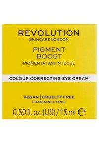Revolution Skincare - PIGMENT BOOST EYE CREAM - Augenpflege - - - 2