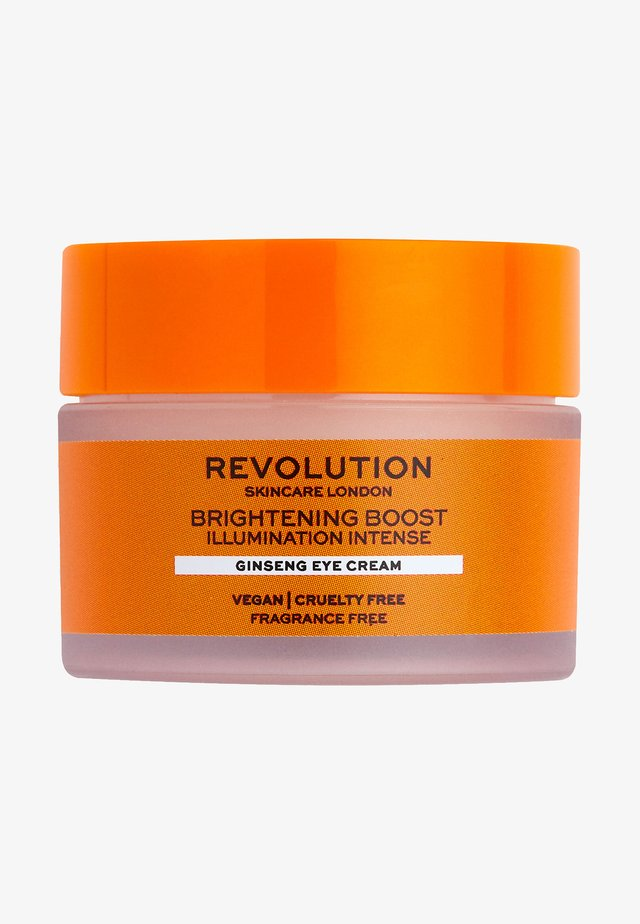 BRIGHTENING BOOST GINSENG EYE CREAM - Oogverzorging - -