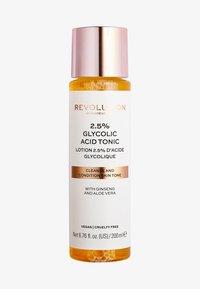 Revolution Skincare - 2.5% GLYCOLIC ACID TONER - Gesichtswasser - - - 0