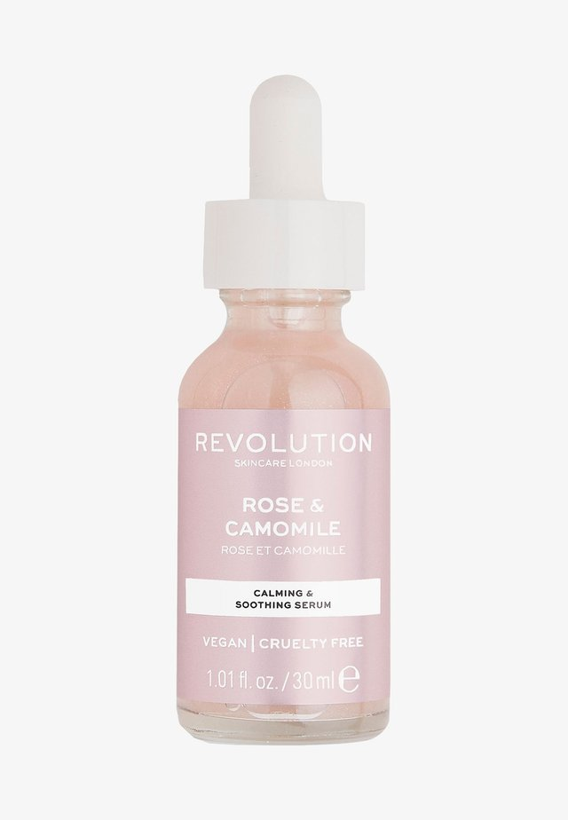 ROSE & CAMOMILE SERUM - Serum - -