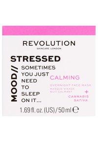 Revolution Skincare - MOOD CALMING OVERNIGHT FACE MASK - Nachtpflege - - - 2