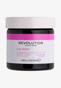Revolution Skincare - MOOD CALMING OVERNIGHT FACE MASK - Nachtpflege - - - 0