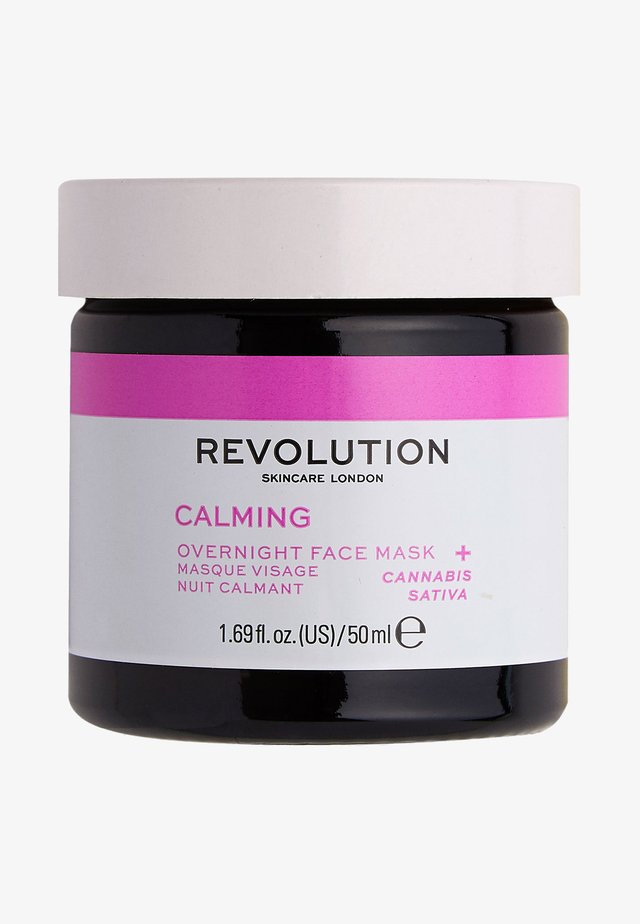 MOOD CALMING OVERNIGHT FACE MASK - Nachtpflege - -