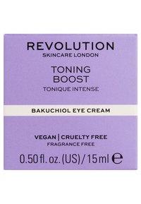 Revolution Skincare - TONING BOOST BAKUCHIOL EYE CREAM - Augenpflege - - - 2