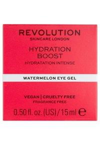 Revolution Skincare - HYDRATING BOOST WATERMELON EYE GEL - Augenpflege - - - 2
