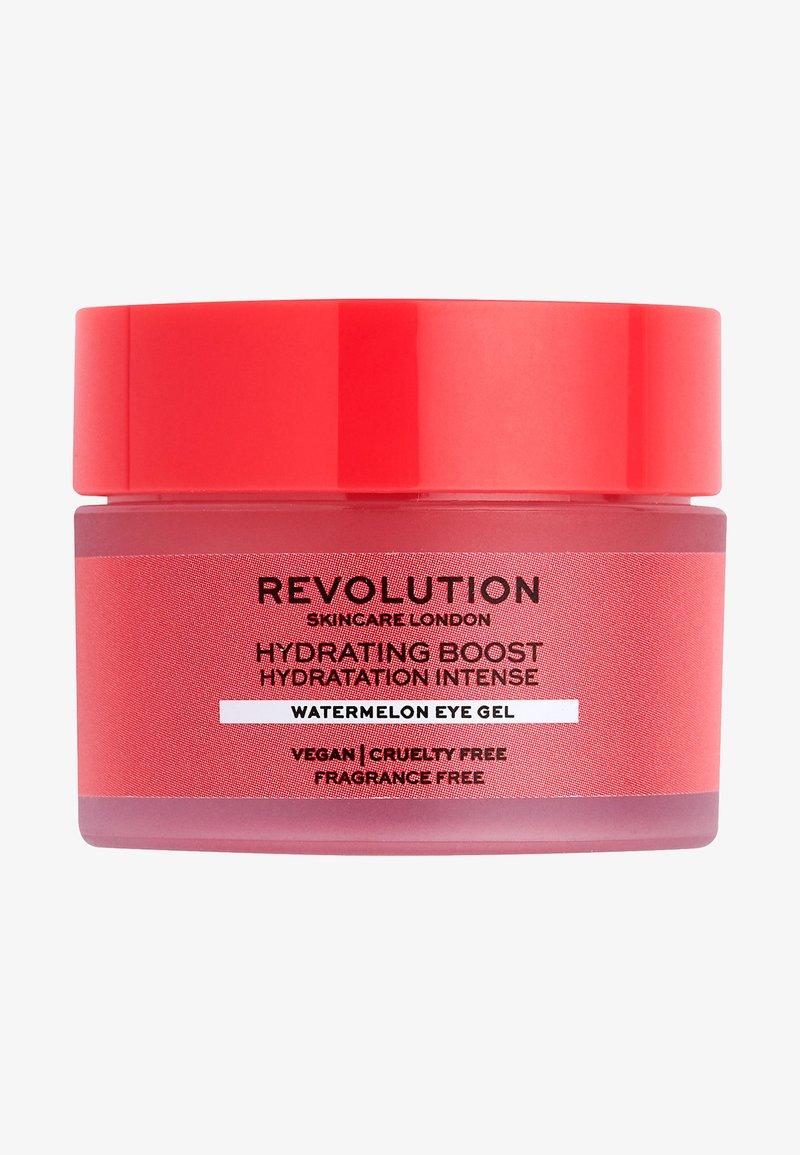 Revolution Skincare - HYDRATING BOOST WATERMELON EYE GEL - Augenpflege - -