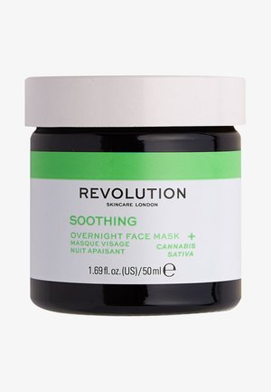 MOOD SOOTHING OVERNIGHT FACE MASK - Night care - -