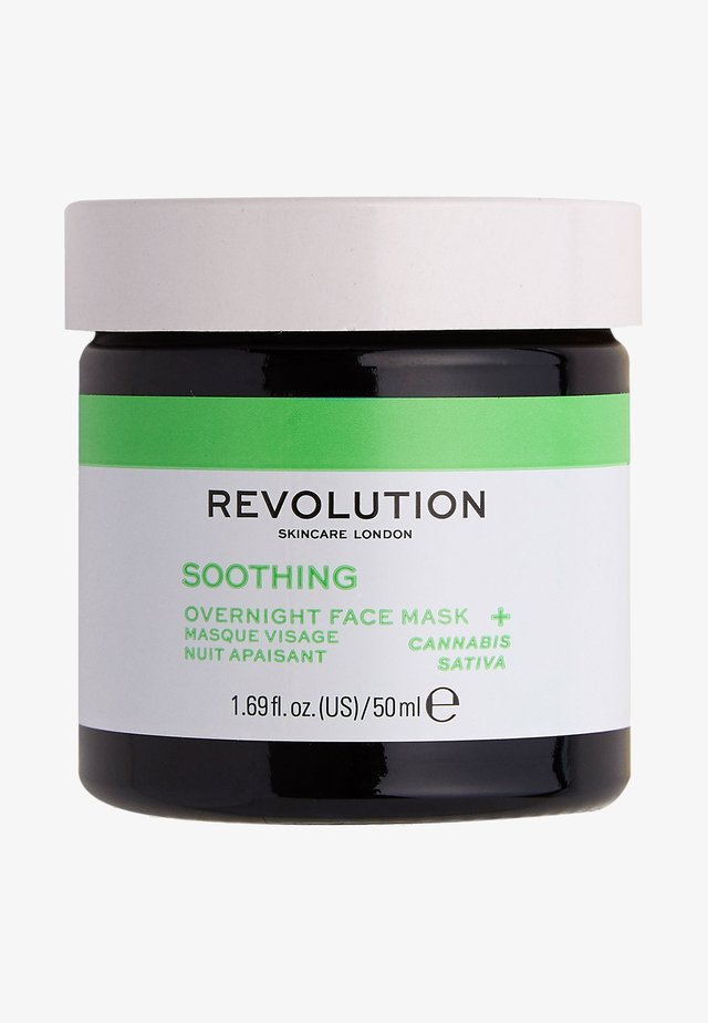 MOOD SOOTHING OVERNIGHT FACE MASK - Nachtpflege - -