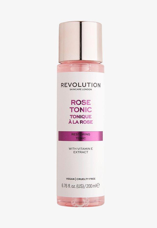 ROSE TONIC - Lotion visage - -