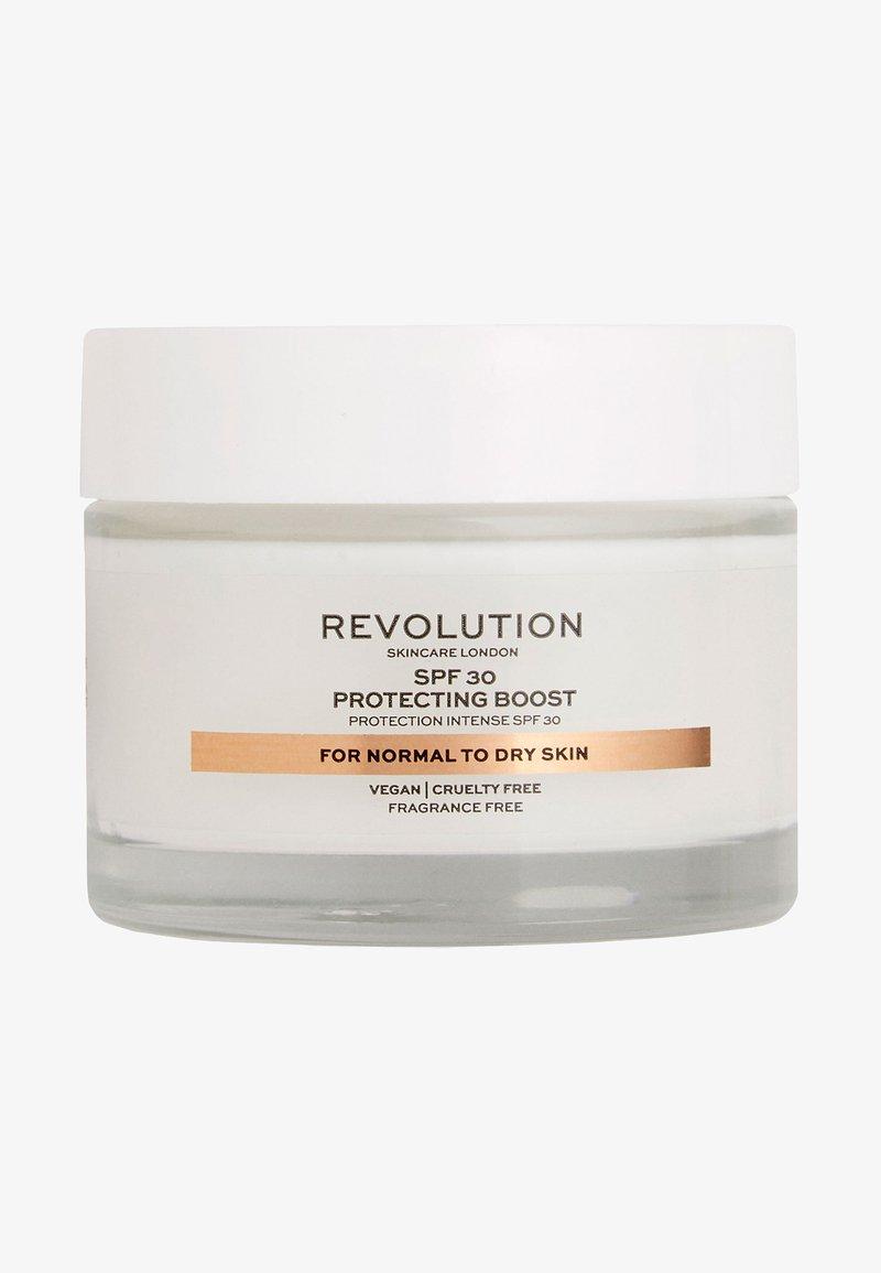 Revolution Skincare - MOISTURE CREAM SPF30 NORMAL TO DRY SKIN - Gesichtscreme - -